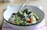 Asparagus and Tomato Risotto