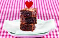 Chocolate and cherry brownies