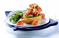 Cajun Salmon Jacket Potatoes