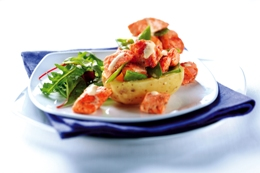 Cajun Salmon Jacket Potato