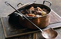 Beef & chestnut casserole