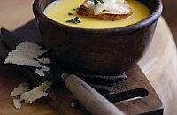 Parmesan & butternut squash soup