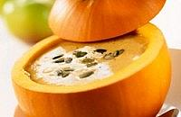Roast Bramley & pumpkin soup