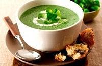 Lamb's lettuce soup