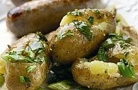 Potato salad for sausages