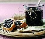 Apple and blackcurrant jam