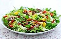 Warm Duck and Orange Salad