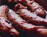 Sticky Onion Marmalade Sausages