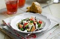 Goats cheese & apple salad