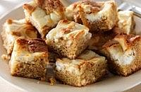 White Chocolate Cheesecake Blondies