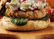 Spicy Turkey Burger with TOTAL Greek Yoghurt Salsa