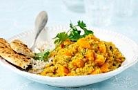 Lemony carrot dahl curry