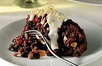Boozy Christmas pudding