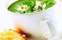 Creamy spinach & Stilton soup