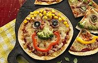 Mission Deli Wrap Pizza Faces