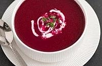 Roasted beetroot soup