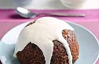 Beetroot, Raisin & Stem Ginger Pudding