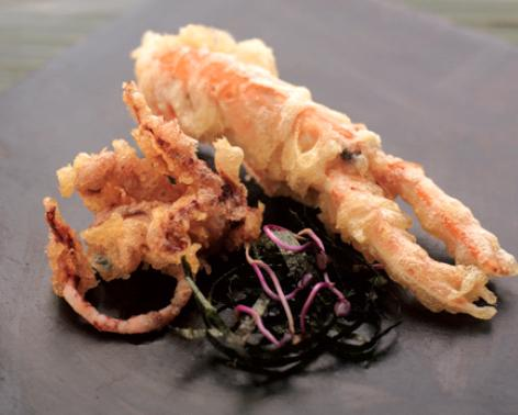 Chang tempura of langoustine and squid - Candis