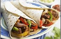All in one chicken fajitas