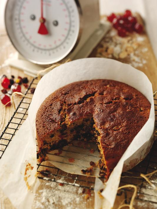 Helen Worth's Boiled Cider Fruit Cake