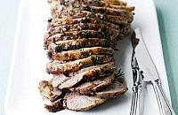 Anchovy and Mustard Glazed Lamb