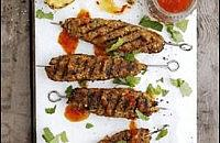 Barbecue shish kebabs