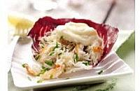 Crab salad with elderflower mayonnaise
