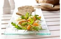 Elderflower and lemon marinated salmon