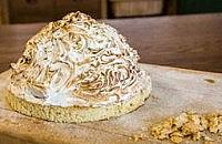 Chocolate Ice Cream Baked Alaska