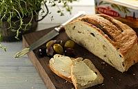 Anchovy and olive bread
