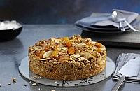 Apricot and Apple Granola Crumble Cake