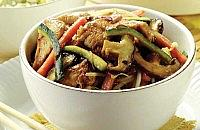 Chicken, Courgette and Mushroom Stir-Fry