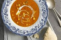 Red lentil and chilli soup