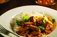 Roast turkey curry
