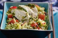 Thai style rice salad
