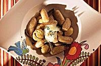 Chestnut and potato gnocchi