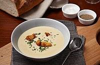 Creamy Fenland celery soup