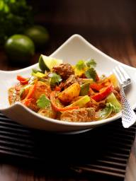 Lamb and Leek Thai Red Curry