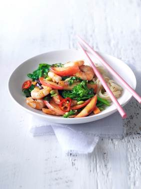Hot and sour stir-fry