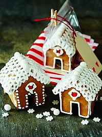 Gingerbread mini houses