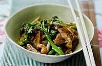 Blackbean stir-fry