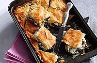 Feta filo pastries