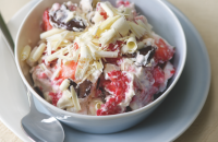 Chocolate Eton mess