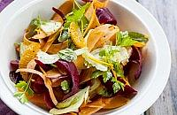 Sweet potato & beetroot salad