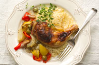 Lemon-and-olive-baked-chicken