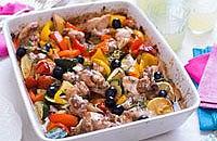 Provençal tray bake