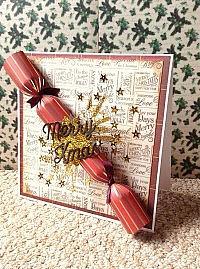 Merry Christmas Cracker Card