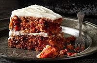 Gluten-free root vegetable cake