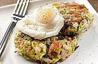 Leek bubble and squeak
