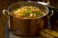 Winter vegetable broth